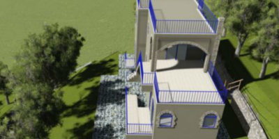 Two Storey Residence In Kissamos
