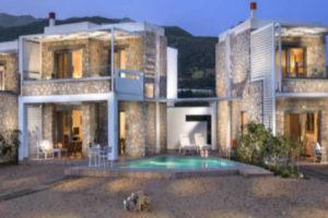 Complex Of Three Stone Built Tourist Residences In Paleochora