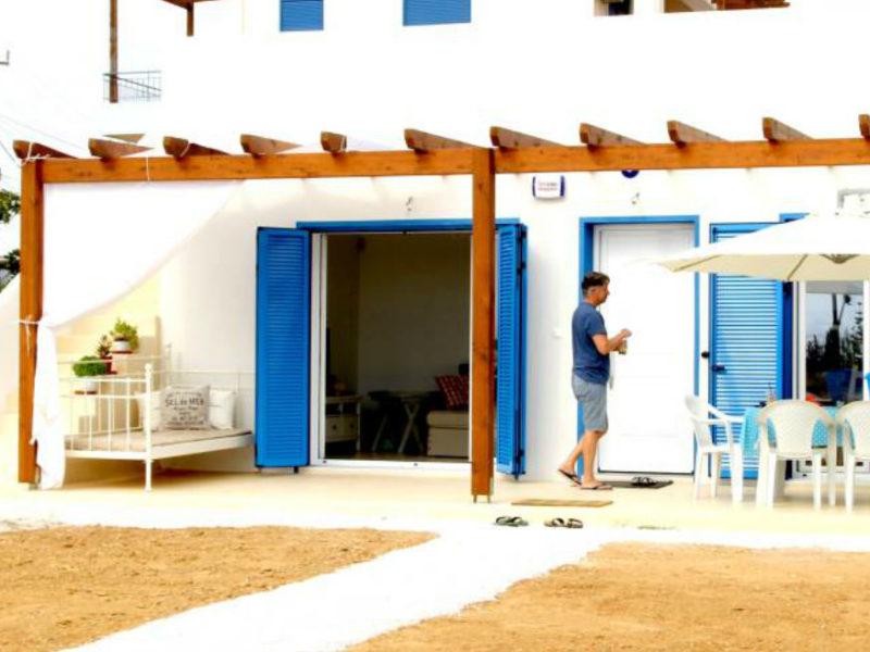 Ισόγεια κατοικία με άρωμα Κυκλάδων