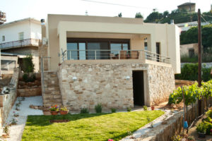 single storey residence