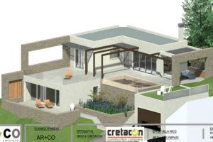 Διώροφη κατοικία στην περιοχή Κολυμβάρι